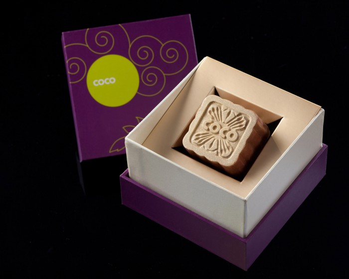 COCO Chocolate Mooncakes 2013  Nutty Rose  Individual Box