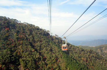 Mt. Rokko Cable car